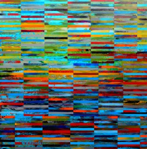 DNA Landscape_48x48 inches_acrylic on panel_2014