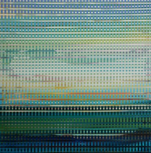 Interwoven Landscape_24 x 24 inches_acrylic and resin varnish on panel_1