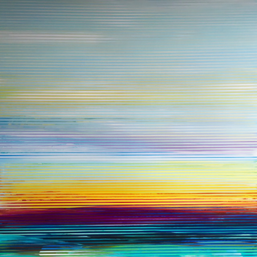 Weaving Landscape_48 x 48 inches_Skeir_2016