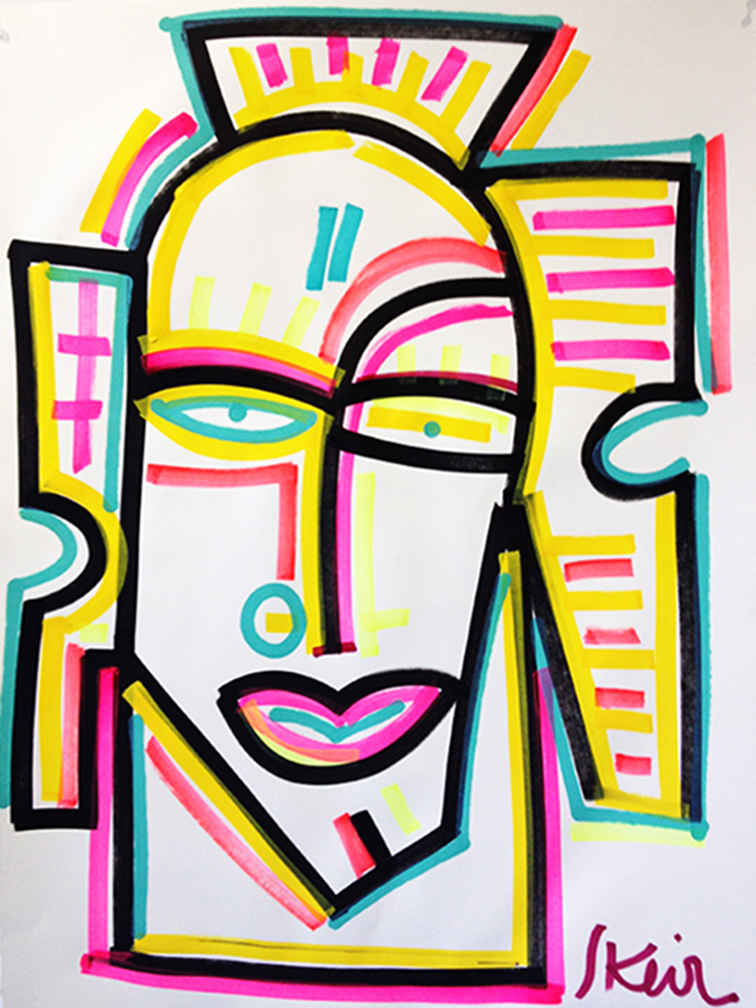 Face_22 x 30 inches_2015_1