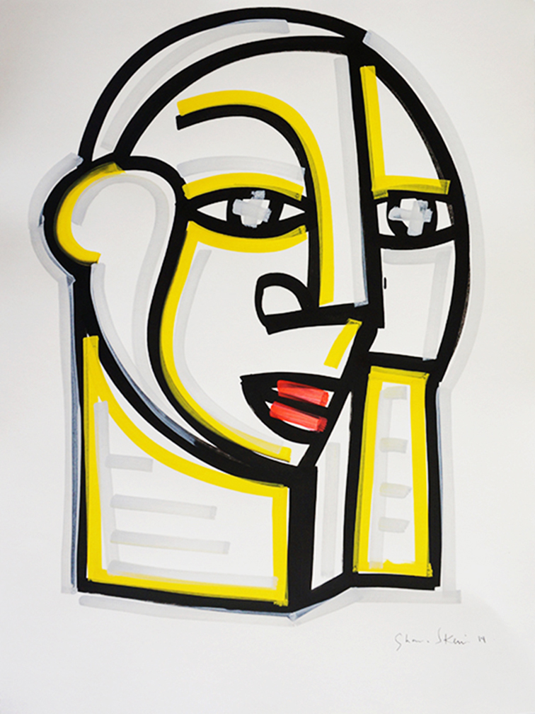 Face_22 x 30 inches_2015_2