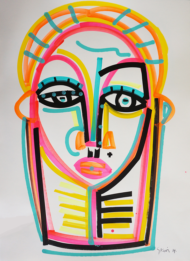 Face_22 x 30 inches_2015_5