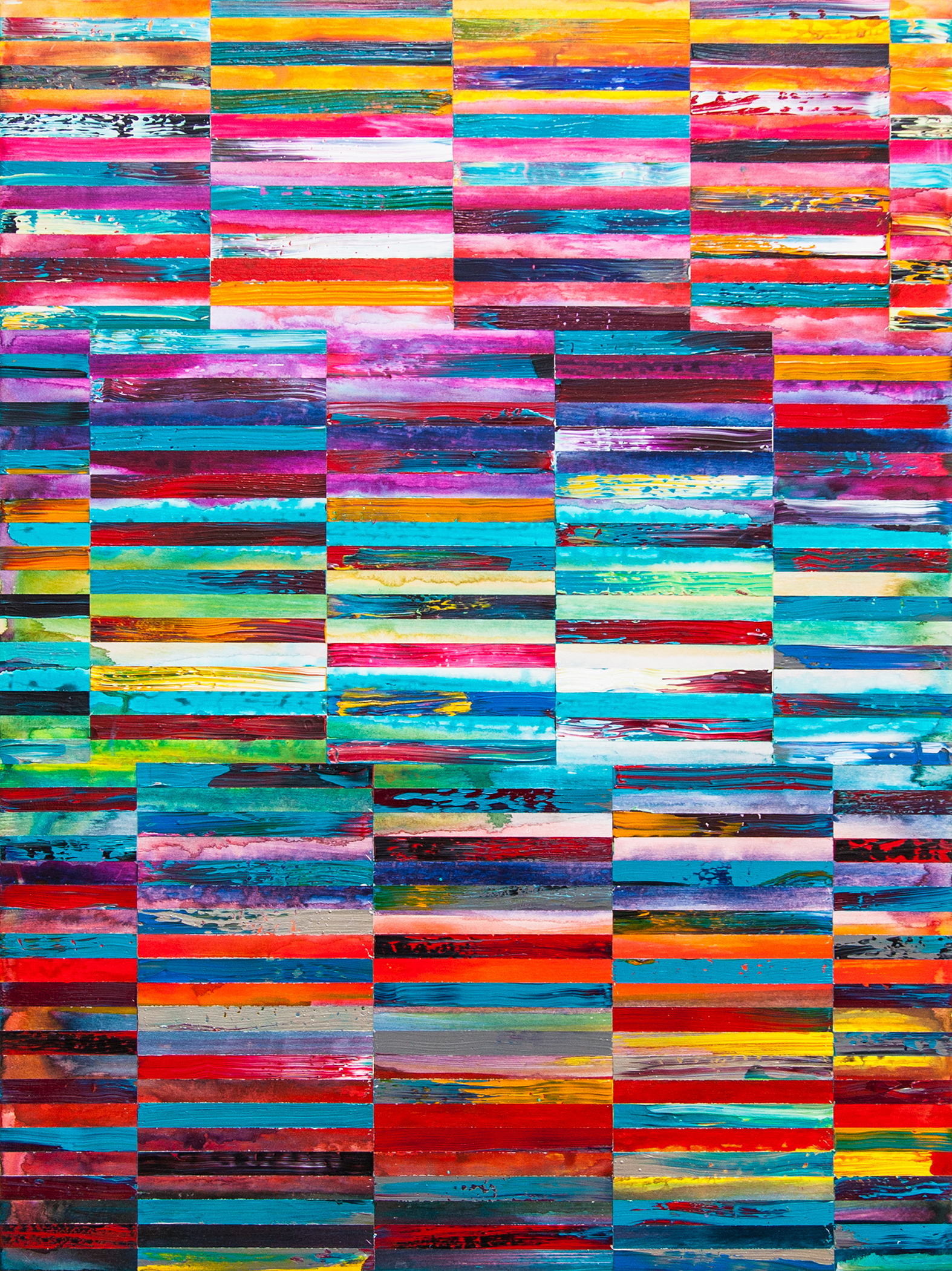 DNA Landscape 2017_30 x 40 inches_at Skeir Gallery_2017