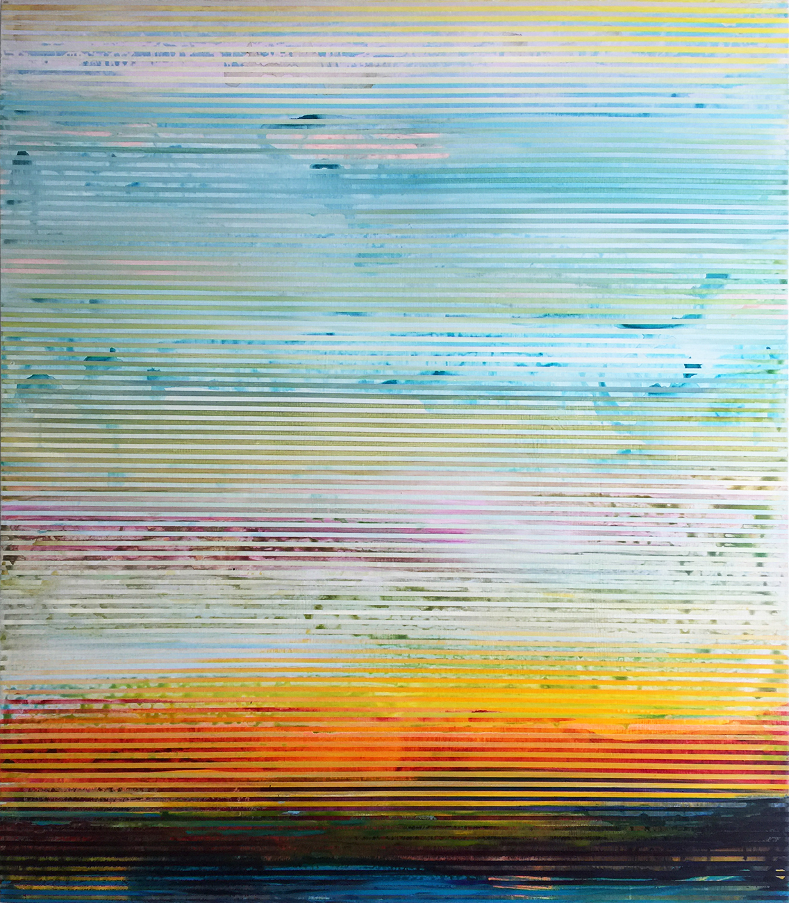Weaving Landscape No.45_42 x 48 inches_2017