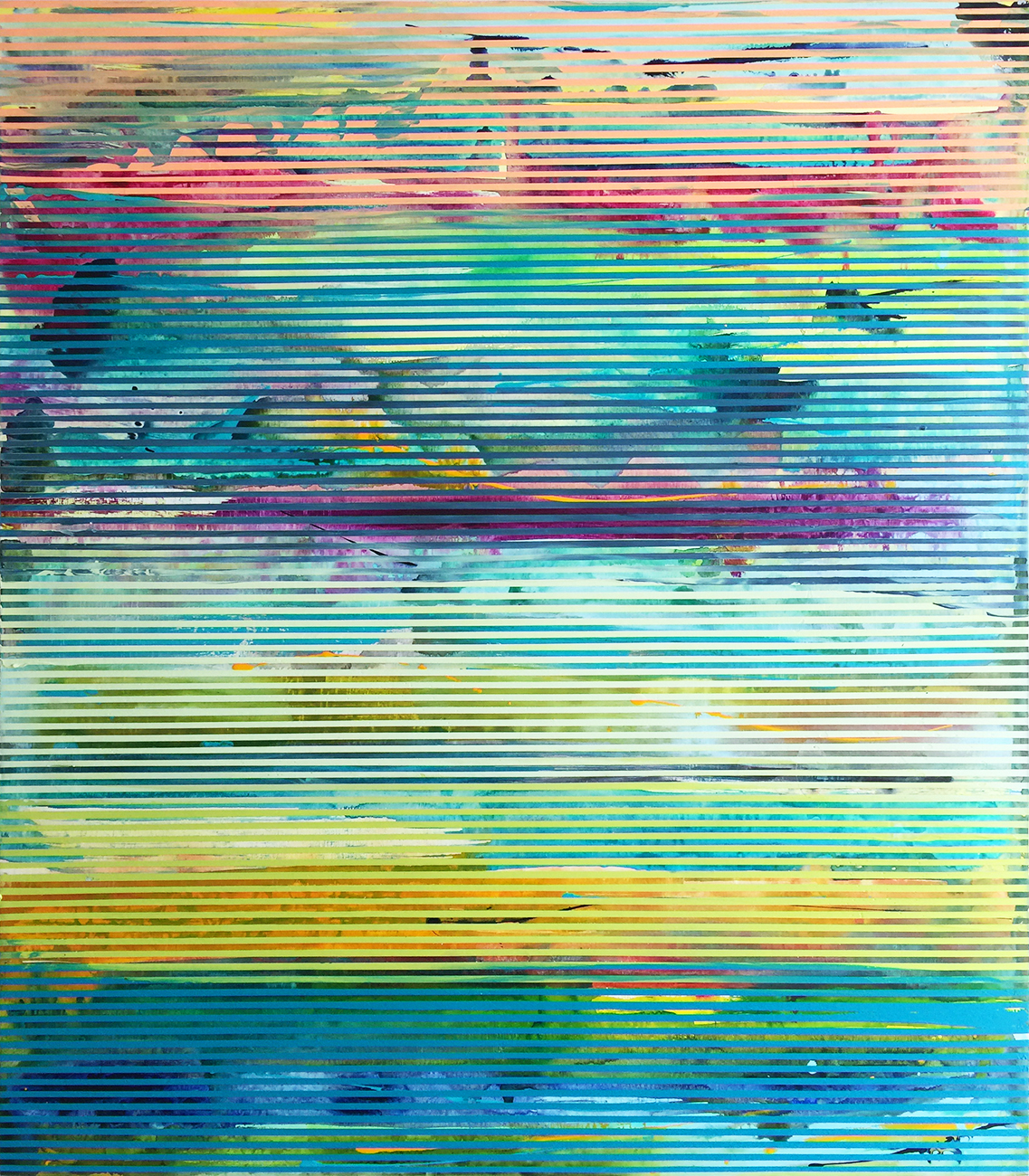 Weaving Landscape No.46_42 x 48 inches_2017