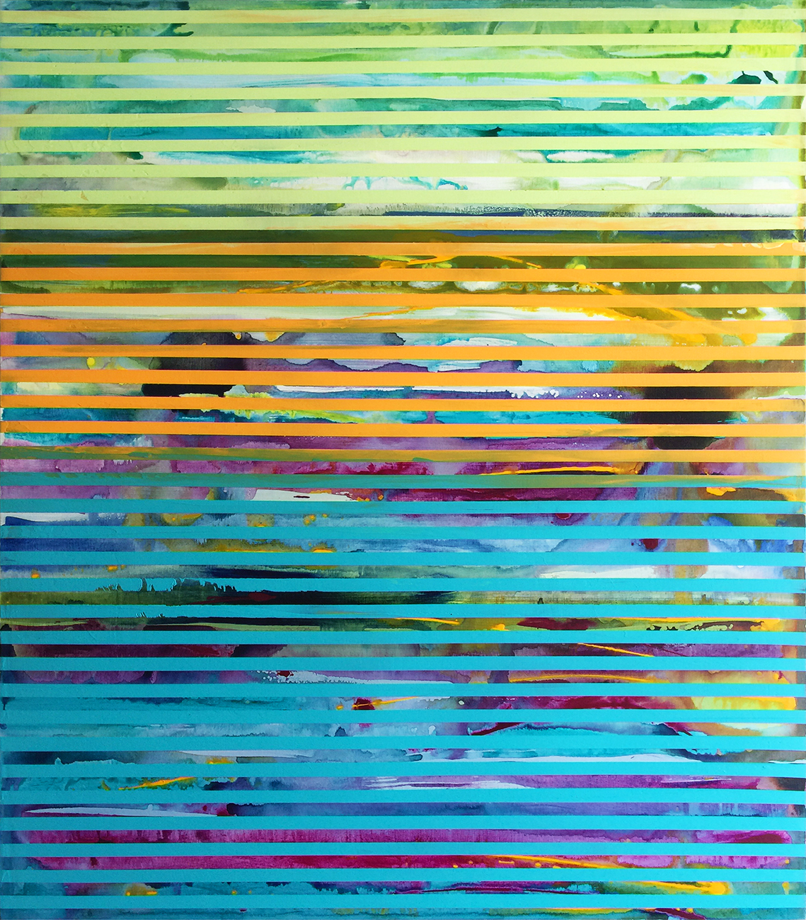Weaving Landscape No.47_42 x 48 inches_2017