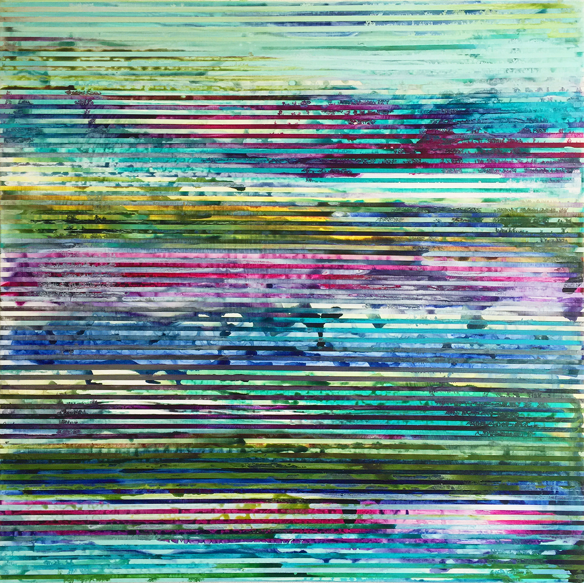 Weaving Landscape_30 x 30 inches_1A