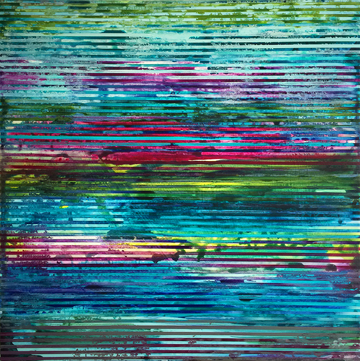 Weaving Landscape_30 x 30 inches_2A