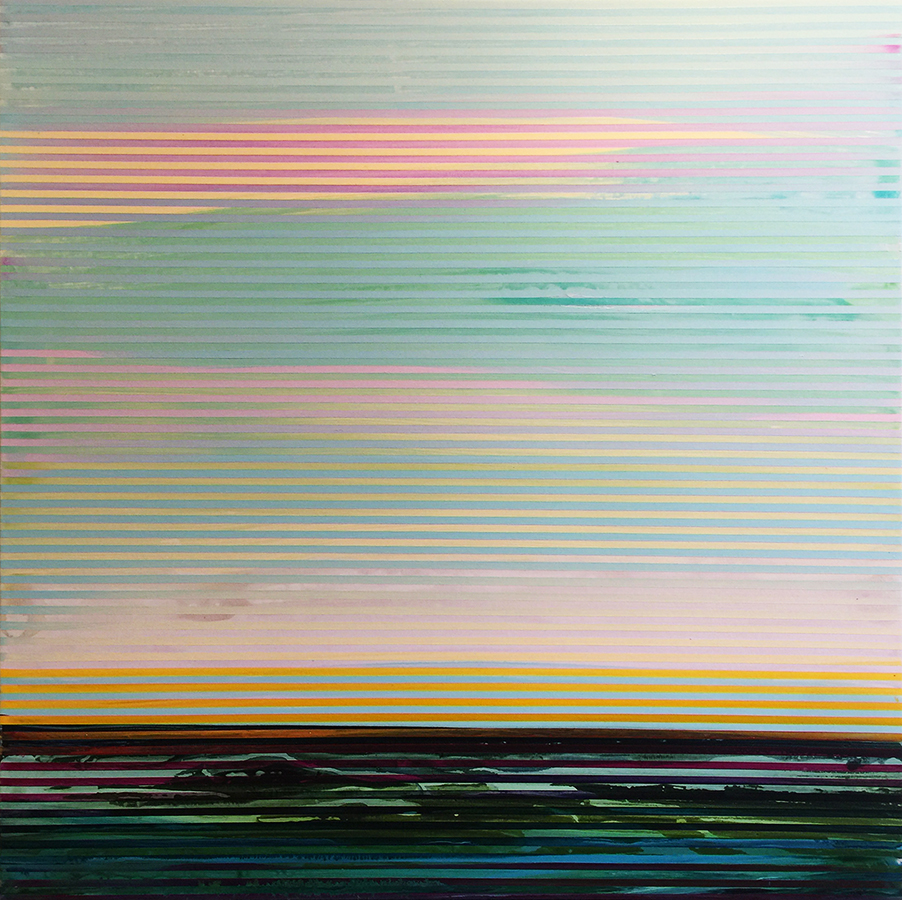 Weaving Landscape_30 x 30 inches_October 2017