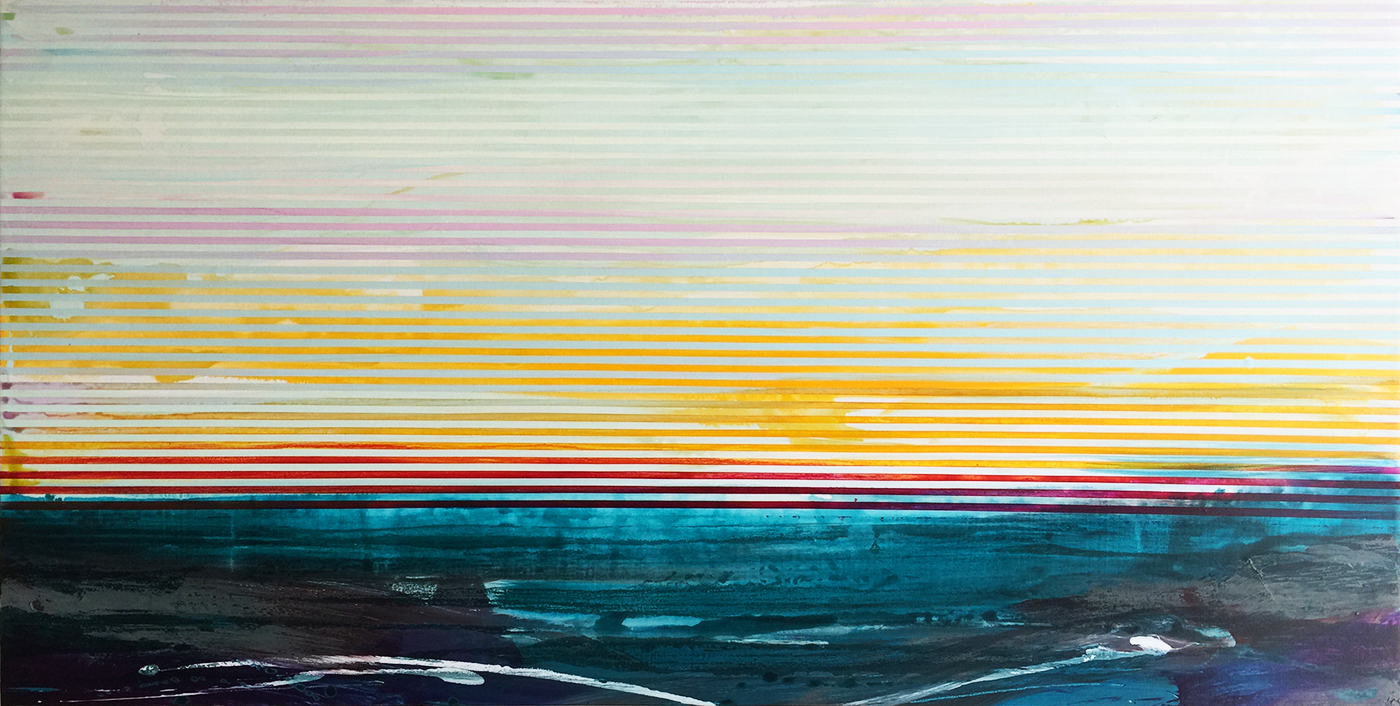 Weaving Landscape_48 x 24 inches