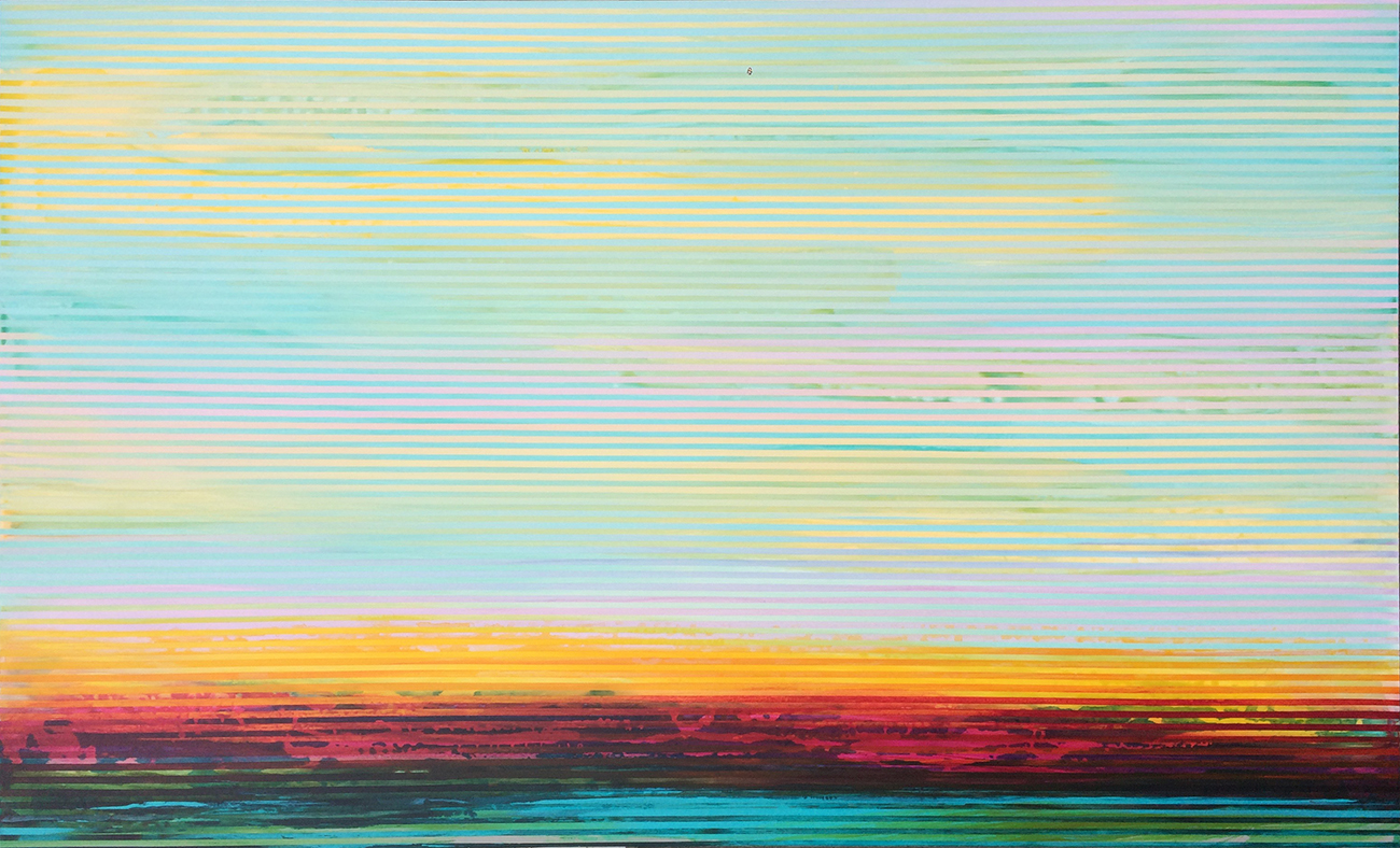 Weaving Landscape_60 x 36 inches_2017_No.23