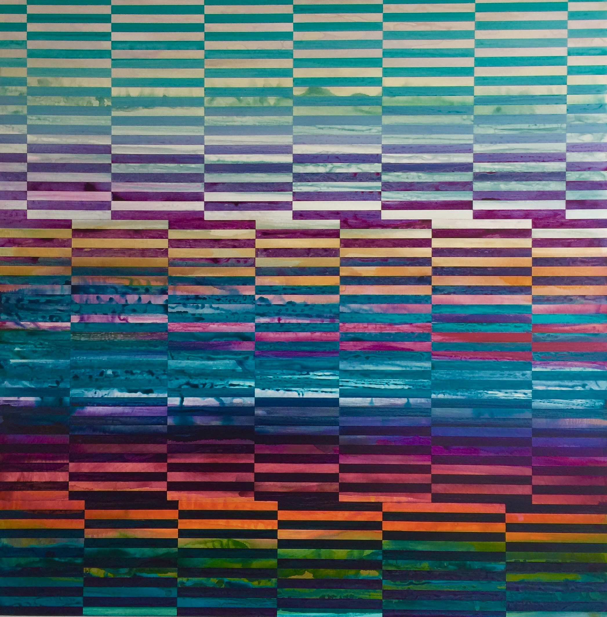 DNA Landscape No.19_48 x 48 inches_2018_2