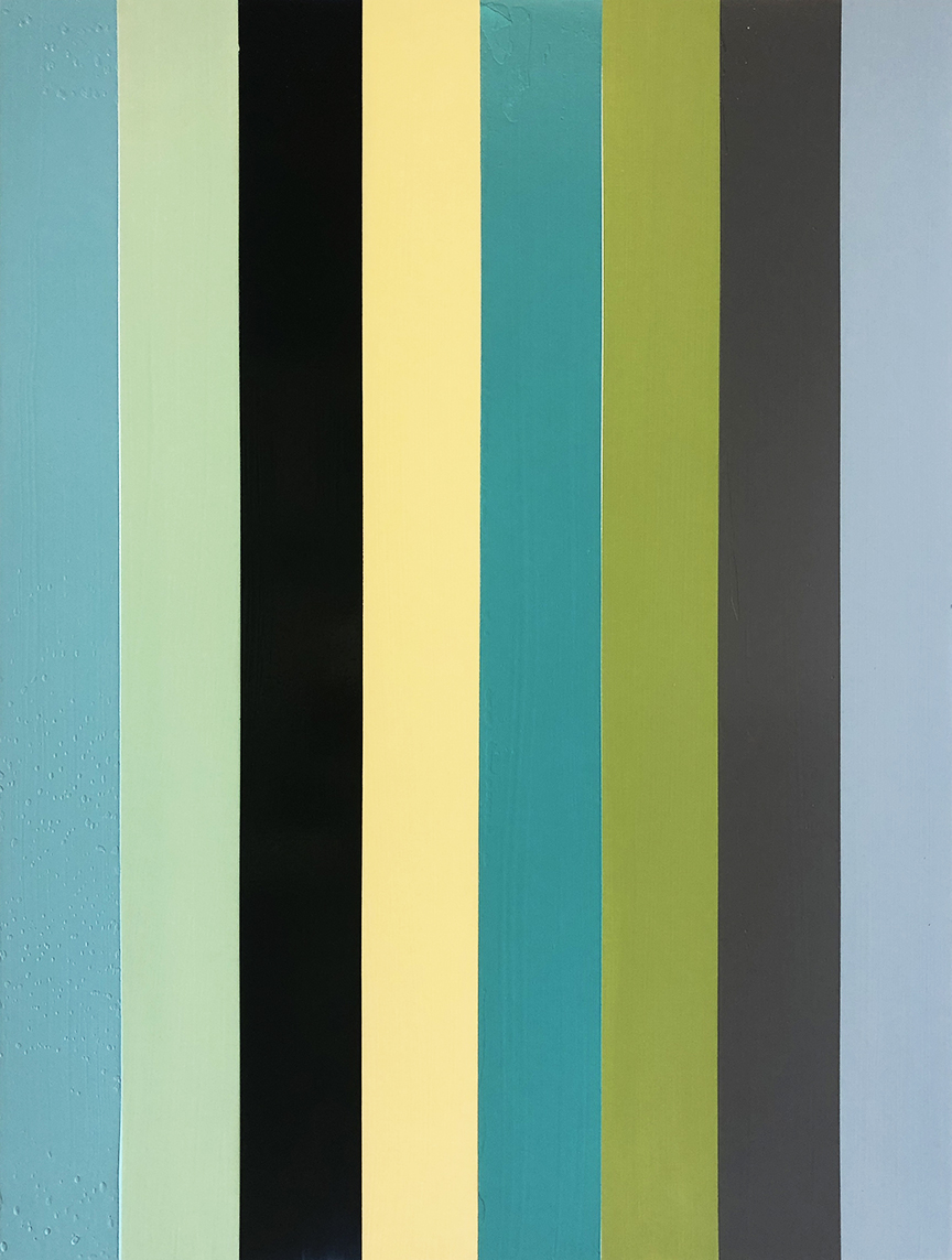 Abstract_vertical stripes_30 x 40 inches_2019_3