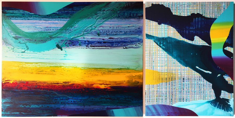 Abstract No.30 (diptych)